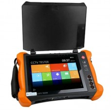 "X9-ADH New top-of-the-line ""All in one multi-function CCTV tester"", with unique Retina 8 '' touchscreen and 2048x1536 resolution"