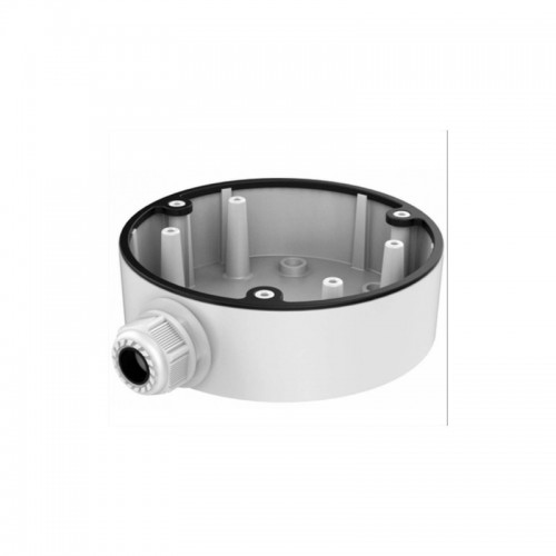 DS-1280ZJ-DM46  Metal base - low profile connection box for mini Dome series DS-2CD25x3G0-I, (diameter x height) 120x37mm.