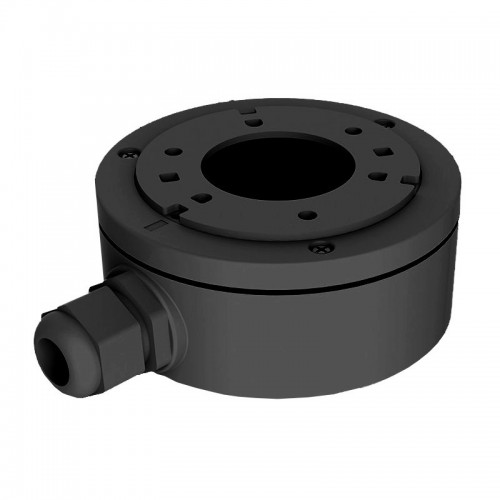 DS-1280ZJ-XS BLACK  Metal base - extra small junction box, 100 x 43 x 129 mm in black.