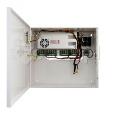 PSUPS20A12E  UPS power supply capable of delivering several hours of autonomy to a CCTV system, 13.8 VDC & 20 A,