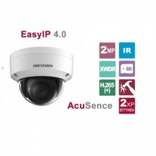 DS-2CD2126G1-I 2.8 2MP AcuSense Dome network camera, DarkFighter Technology