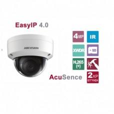 DS-2CD2146G1-I 2.8 4MP AcuSense Dome Web Camera, DarkFighter Technology