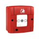 Addressable fire protection button
